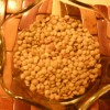Dried brown lentils